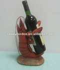 lobster polyresin wine holder