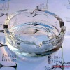 round glass ashtray-(Christmas gifts)