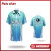 2012 Latest Nimblewear sportwear Coolmax Material digital sublimation Polo shirt