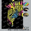 animal style DIY paper craft scratch art
