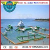 inflatable water amusement park suit for seaside