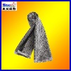 ST-SC08-1#2013winter men's checked cotton/wool/cashmere tassel knitted jacquard scarf