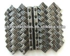 zinc alloy western buckle for waist belt