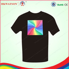 2013 hkwatson wholesale el flashing bulk blank t-shirts