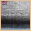 Indigo cotton denim fabric