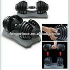 NEW adjustable dumbbell fitness equipment-F003
