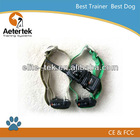 Aetertek dog trainer for 2dog 350M range beep vibration shock collar