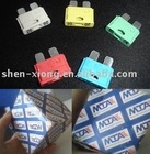 medium blade fuse & automotive parts & auto fuses& MTA fuse