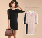 Fashion clothing lace dress designs