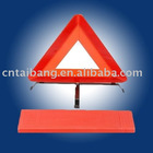 Red light traffic reflective triangle
