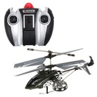 F103 4CH 4 Channel Gyro LED Mini LED I/R Metal Model RC Helicopter RTF Gray
