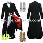 Bleach Ichigo Kurosaki-Mens Bankai Costume + shoes