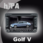 HEPA: touch screen car dvd player for vw golf v