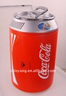 11L red pot shape cola portable car fridge