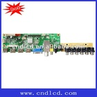 LED TV mother Board adopts MSTAR program,support 3HDMI/MPEG1/2/4/USB media play
