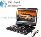 Deluxe edition portable DVD player with 11.3 inch LCD display and rich multi media feature set
