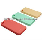 2012 promotional silicone cover newly with laser for iphone4