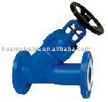 supply for low price DIN standard Y-type bellow sealed globe valve