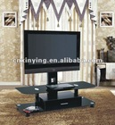 2012 Plasma glass tv stand with metal bracket