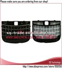 Black Keyboard Keypad For Blackberry Bold Touch 9900 9930
