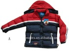PG-3093A/B/C/D boys padded jacket