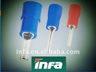 coated tin needle shaped insulation pin terminals