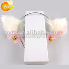 plush cat ear hair band for cosplay and party on wholesale b204