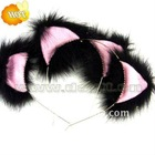 Christmas cosplay cat ear headband for wholesale be06