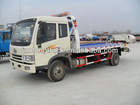 FAW wrecker towing truck