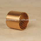 FB090 Bronze wrapped bushes with through holes