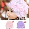 Baby floral princess caps
