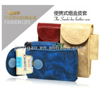 The Smoke box leather case ,three kinds of color,this product is full in stock,lower price with large quantity.