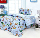 Cheap fitted cartoon bed sheet sets