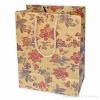 Classical paper shopping bag