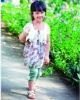 Girls summer dress of wholesale child clothing