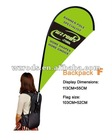 backpack F banner/backpack flying banner/Knapsack banner