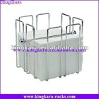 KingKara KANH041 Stainless Hanging Rollpaper Holder in Bathroom