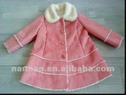 girls faux shearling coat
