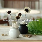 Decoration Aromatic Ceramic Rattan Reed Diffuser In Room