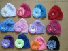 wholesale baby hat crochet patten with daisy flower