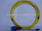 sc duplex fiber optical patch cord factory