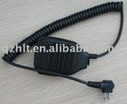 handheld PTT speaker mic <fit for Kenwood/Motorola two way radio>