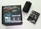 Dual cameras Vehicle Car DVR black box night vision dual lens 120 degree KA063-04