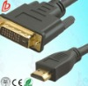 24k gold plated hdmi cable 1.4 support 1080P+3D with ethernet