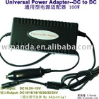 100W universal notebook adapter for car