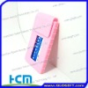 Factory supply silicone business card case