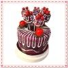 Wedding Gift Cake Design Fruit Fork