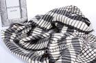 Wool jacquard blanket