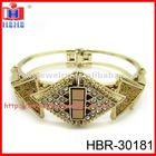 Fshion gold plated rhinestone bangles