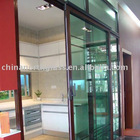 Aluminium profile for door and window frames